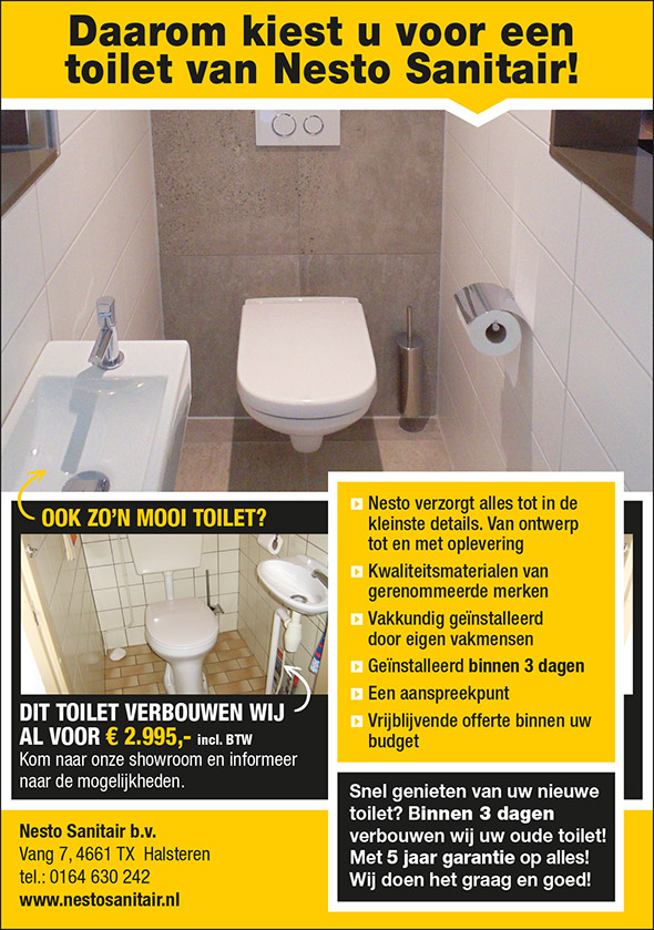 Budget toilet